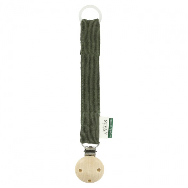 Pacifier Clip / Ribble Moss