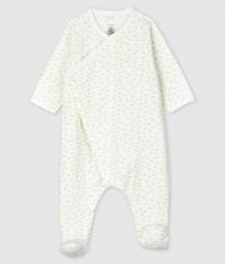 Pyjama met voetjes / Wolkjes