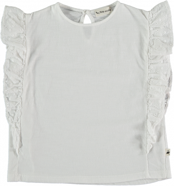 Embroidery Kids T-shirt / White