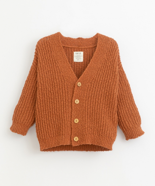 Knitted Jacket / Anise