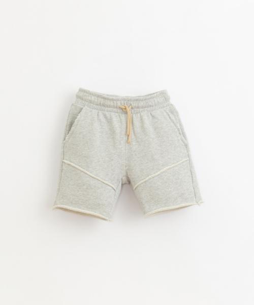 Fleece Shorts / Grey Melange