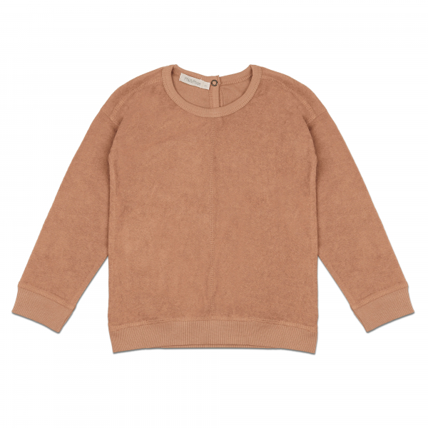 Frotté Sweater / Warm Biscuit