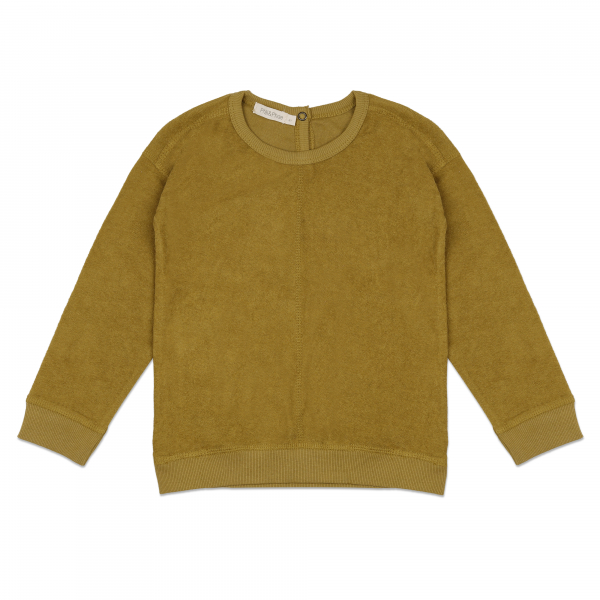 Frotté Sweater / Pear
