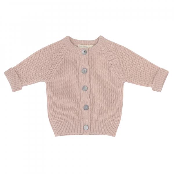 Cashmere Blend Baby Cardigan / Blossom