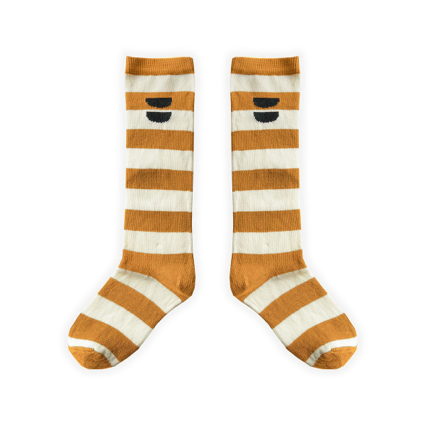 High Socks Stripe Desert / Desert