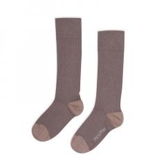 Ribbed Knee Socks / Heather