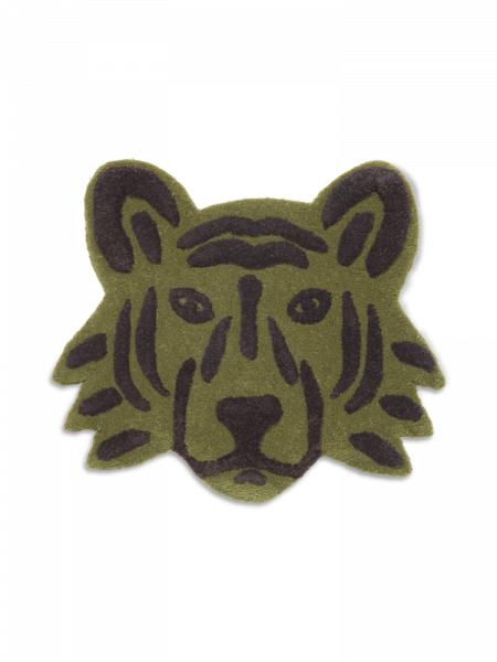 Tufted Tiger Head / Green