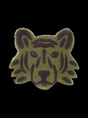 Tufted Tiger Head / Green