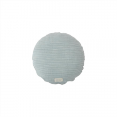 Kyoto Cushion Round / Dusty Blue