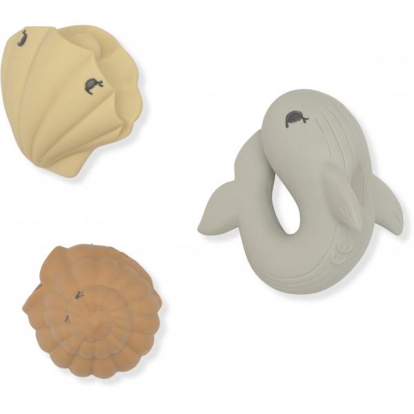Bath Toys Ocean / Whale-Shell-Clam