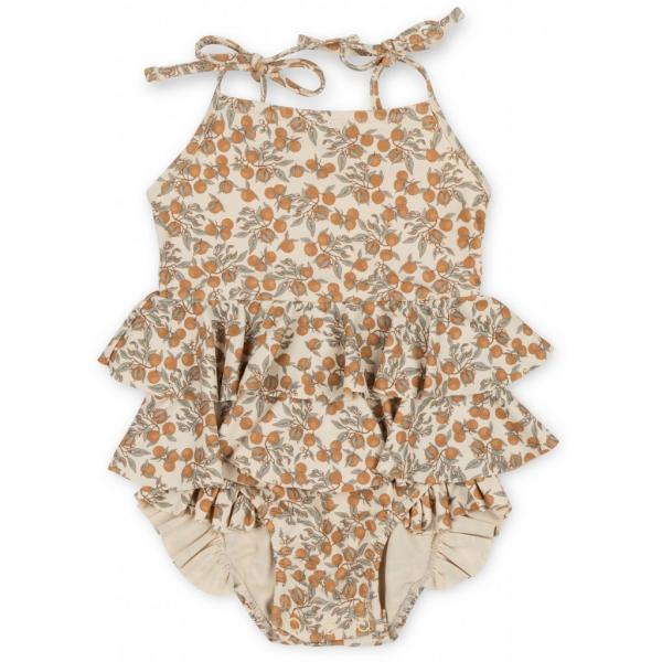 Manuca Frill Swimsuit / Orangery Beige
