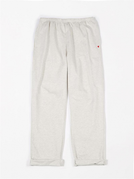 Dames Joggers French Terry / Creme Melee