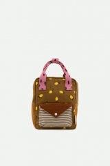 Backpack Small Corduroy / Lemon Dijon + Gingerbread