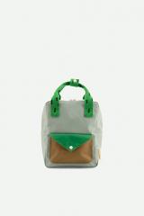 Backpack Small Sprinkles / Steel Blue + Apple Green + Brassy Green