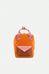 Backpack Small Sprinkles / Carrot Orange + Bubbly Pink + Syrup Brown