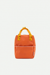 Backpack Small freckles / Carrot Orange + Sunny Yellow + Candy Pink