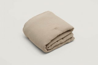 Filled Muslin Blanket / Olive