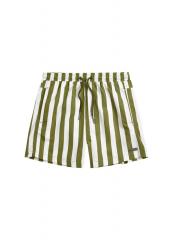 Boys Short / Stripe Pesto
