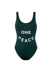 Women Bathingsuit One Peace / Rich Green
