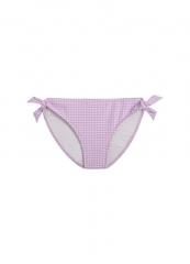 Girls Bikini Bottom / Lilac Check