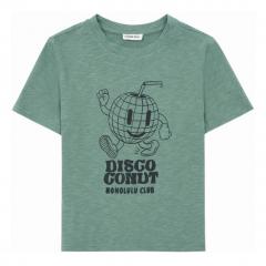 Disco Organic Cotton T-shirt / Sage