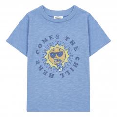 Chill Organic Cotton T-shirt / Blue