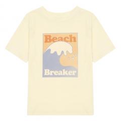 Beach Breaker Organic Cotton T-shirt / Apricot