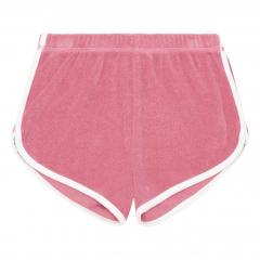 Organic Terry Cloth Shorts / Pink