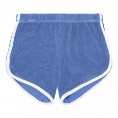 Organic Terry Cloth Shorts / Blue