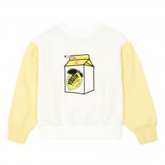 Lemonade Organic Cotton Jumper / White