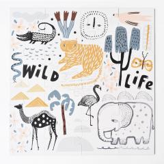 Floor Puzzle / Wild Life