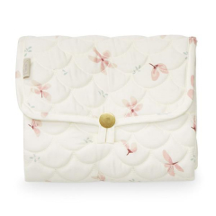 Changing Mat Quilted / Windflower Creme