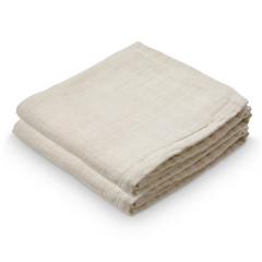 Muslin Cloth, 2-pack - Light Sand