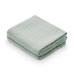 Muslin Cloth, 2-pack - Dusty Green