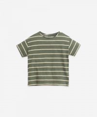 Striped Jersey T-Shirt / Cocoon