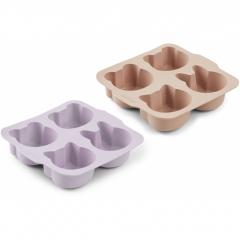 Mariam Cake Pan 2-pack / Light Lavender Rose Mix