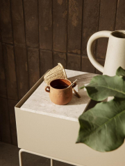 Tray for Plant Box - Marble Beige