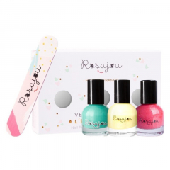 Nail Polishes Set / Lagon / Caprice / Corail