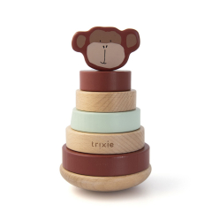 Wooden Stacking Toy Mr. Monkey