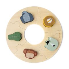 Wooden Round Puzzle