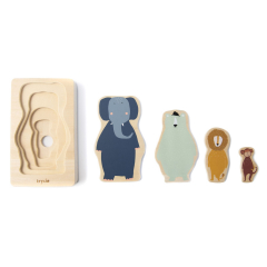 Wooden 4-Layer Puzzle