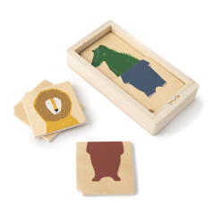 Wooden Animal Combo Puzzle