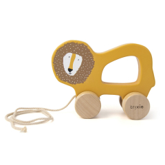 Wooden Pull Along Toy Mr. Lion