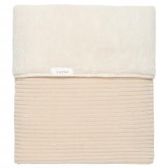 Cot Blanket Teddy Vik / Sand