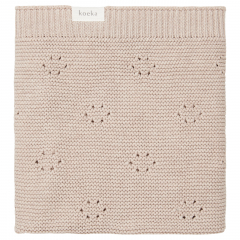 Bassinet Blanket Au Jour le Jour / Soft Clay