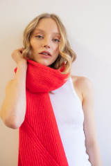 Scarf Jille / Poppy Red