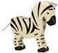 Wildernis Zebra