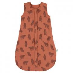 Muslin sleeping bag 70cm / Brave Bear