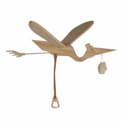 Mobile Bird Pelican Wood