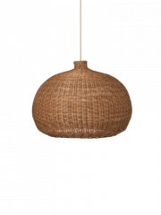Braided lampshade Belly / Natural